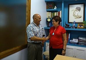 Convenio entre el Club Natación Huelva y la clínica Clambor.