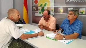 Grupo Municipal de Izquierda Unida, en la sede