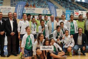 Selección cadete femenina de Huelva.