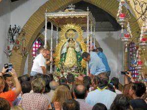 La Virgen en su ermita