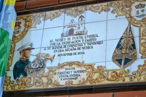 Punta umbriaX Aniversario Banda de Cornetas y Tambores 125