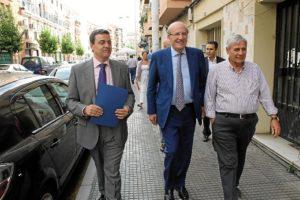 Visita obras Aguas de Huelva Matadero