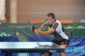 Adrián Robles, jugador del Conservas Lola de tenis de mesa.