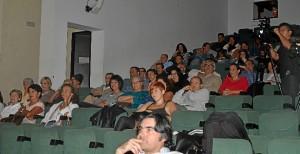 ambiente del auditorio.