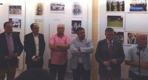 Exposición del 125 aniversario del Recreativo de Huelva en Isla Cristina.