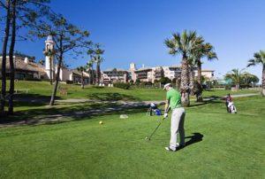 Torneo 'Pasaporte Golf' en Islantilla.