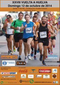 Cartel de la Vuelta a Huelva.