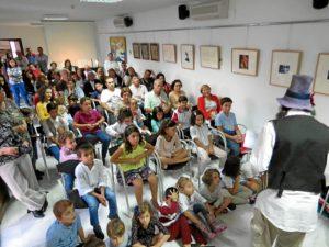 fiesta infantil en la casa-museo