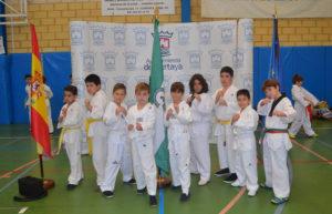 Taekwondocas de San Juan del Puerto.