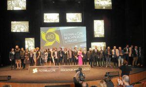Imagen de archivo de la gala de clausura del pasado año.
