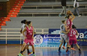 María Pina, jugadora del Conquero Huelva Wagen.