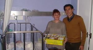 Pedro Ríos, en uno de los hospitales de Huelva.