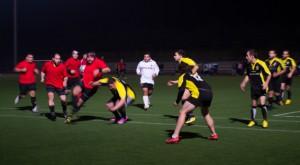 Partido Unión Rugby ante Ecija.