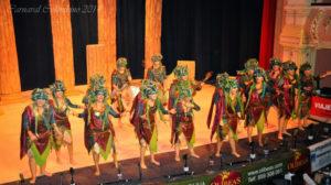 Comparsa de Isla Cristina 'Mi veneno', el pasado año en el concurso del Carnaval Colombino.