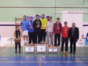 Campeonato de Andalucía de bádminton.