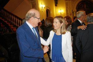 Alcalde y ministra de Fomento