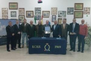 Consejo de Hermandades y Cofradías en el Real Club Marítimo de Huelva.
