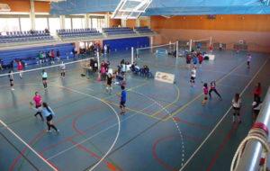 Campeonato Provincial de voleibol en Isla Cristina.