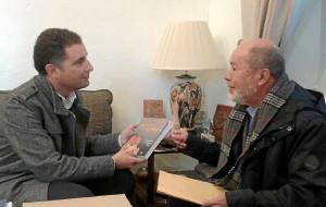 Con el alcalde de Moguer