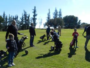 Torneo Infantil de Reyes en el Club de Golf de Bellavista.