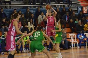 María Pina, jugadora del CB Conquero.