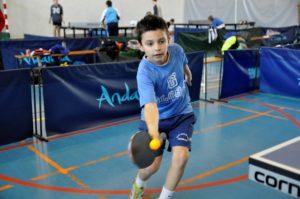 Ludovico Crespo, jugador de tenis de mesa.