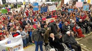 Moguer Dia de la Paz en Moguer