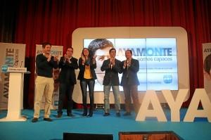 Acto del PP en Ayamonte.