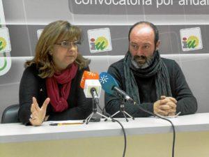 Paloma Lopez y Pedro Jimenez RP IU 20enero2015