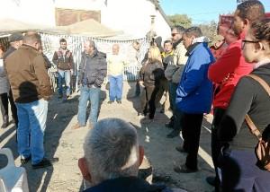 Pedro Jimenez en Campamento Dignidad Minera01