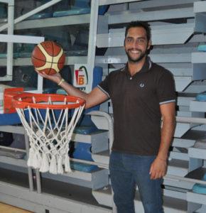 Antonio Tabares, jugador del Ciudad de Huelva.