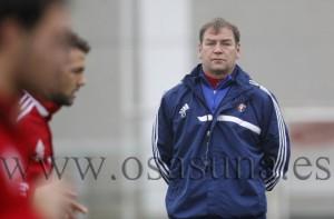 Jan Urban, técnico de Osasuna.