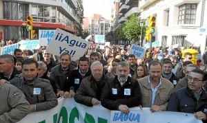 manifestacion agua condado en huelva-004