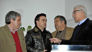 z1. Joao Viegas, Pedro Tavres, Antonio Cabrita y Josu00E9   Cruz.