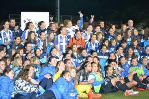 Fundación Cajasol Sporting, campeón de la Copa de la Reina.