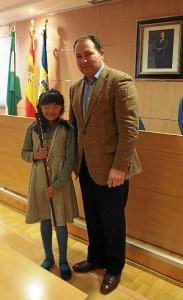 Alcaldesa infantil