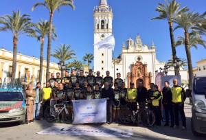 Presentación del Monferve La Palma de ciclismo.