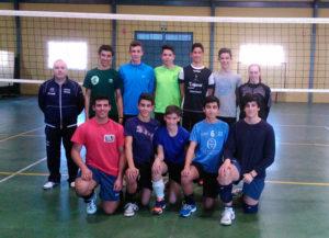 Selección onubense de voleibol cadete.