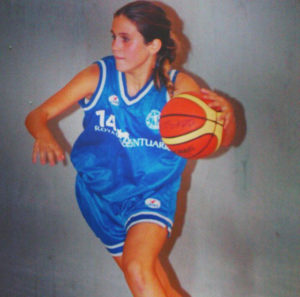 Elena Crespo, jugadora de La Palma.