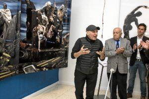Inauguracion exposicion Gerard Rancinan