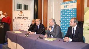 Presentación del Torneo Internacional de baloncesto femenino en Huelva.