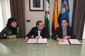 Convenio entre la Diputación de Huelva y el Recreativo IES La Orden.