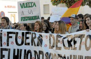 manifestacion huelva contra proyecto 3+2-001