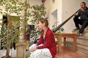 Ana DAcosta y Jose JOao en la Casa GRAnde