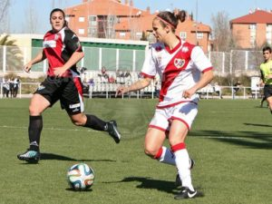 Rayo Vallecano-Cajasol Sporting.