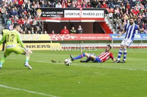 Partido Sporting de Gijón-Recreativo de Huelva.