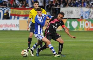 Dani Molina, centrocampista onubense. (Espínola)