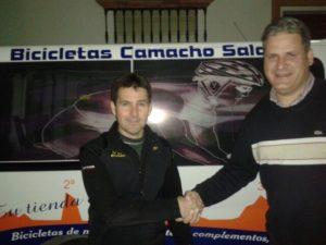 Convenio CD La Palma fútbol sala con Bicicletas Camacho.