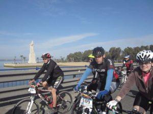 Ruta cicloturista entre Huelva y Palos de La Frontera.