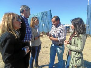 Visita Rufo-Meyer planta transferencia RSU